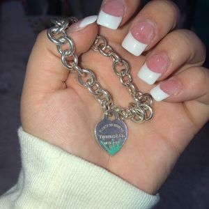 Gently used Tiffany bracelet just cleaned